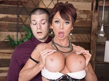 Gina gives new meaning to, Shag The Boss!