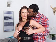Ass-fucked by a greater than typical, black cock